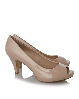 patent court shoes women george at asda. Black Bedroom Furniture Sets. Home Design Ideas