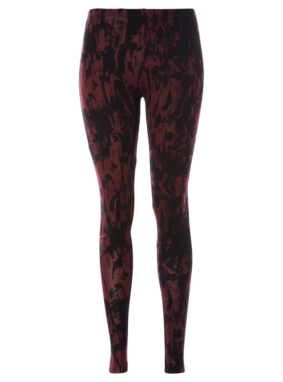 Smudge Print Leggings