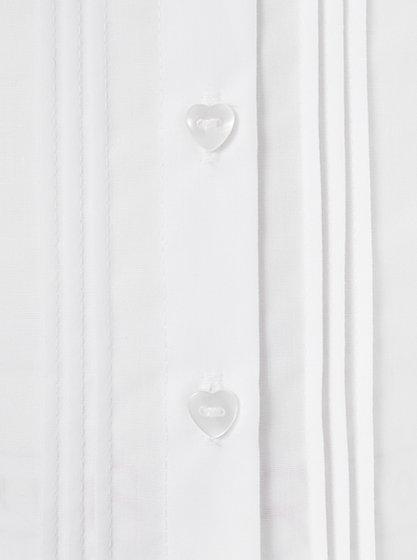 Girls School Pin-Tuck Shirt - White | School | George at ASDA