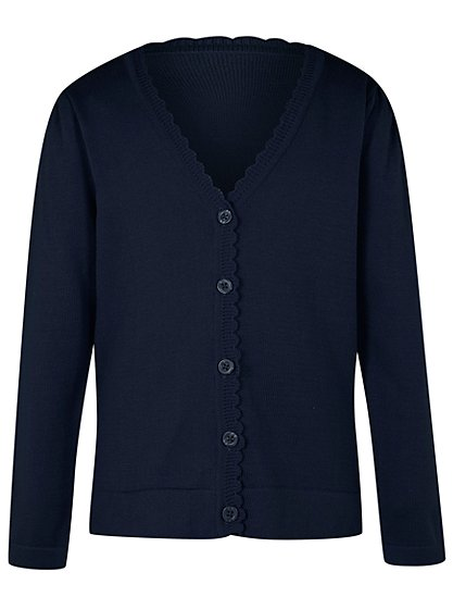 Girls' Cardigans. invalid category id. Girls' Cardigans. Showing 48 of 69 results that match your query. Search Product Result. Product - Embellished Cardi. Product Image. Product - Richie House Little Girls Navy Blue Jersey Flower Pot Lace Trimmed Cardigan 2/3. Product Image. Price $