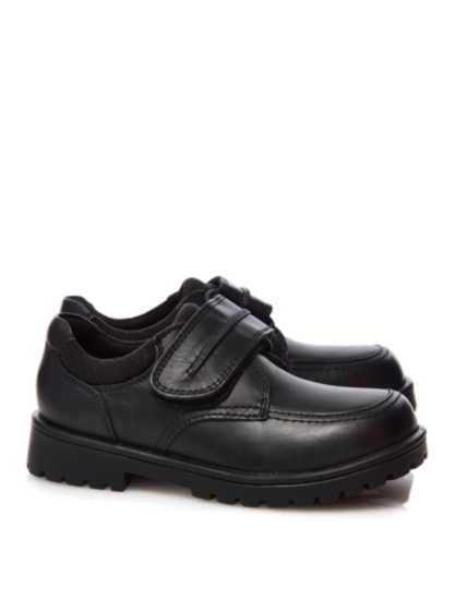 Boys School Leather Strap Shoes | School | George at ASDA