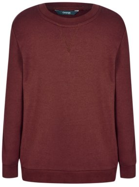 School Sweatshirt - Burgundy