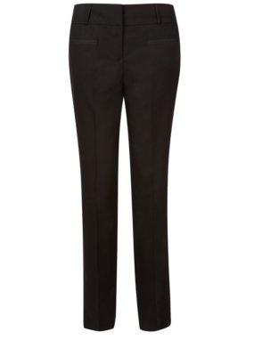 Girls School Skinny Leg Woven Trousers - Black