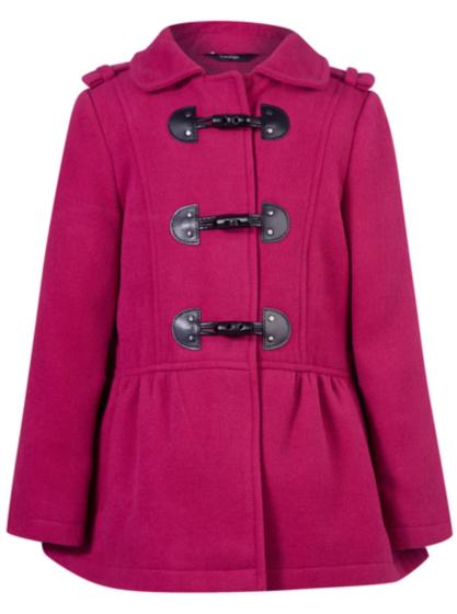co-locate in school**Short Duffle Coat | Girls | George at ASDA