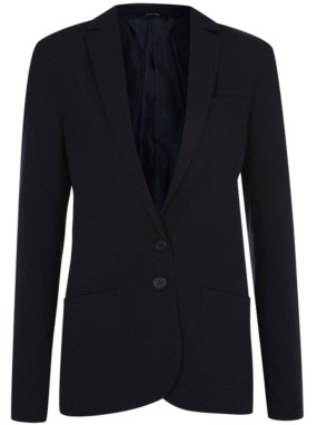 Girls School Regular Fit Blazer - Navy
