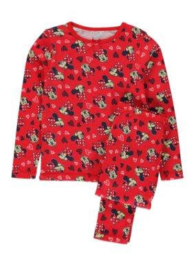 Minnie Mouse Thermal Pyjamas Set