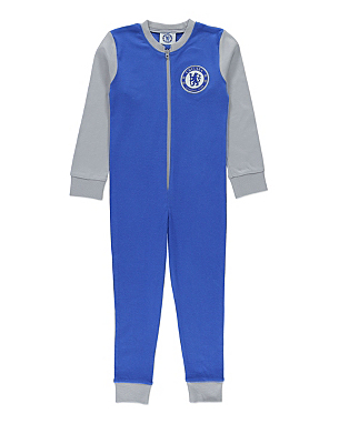 Chelsea FC Official Football Gift Boys Kids Pyjama All-In-One Blue out of 5 stars Chelsea Onesie, excellent for Chelsea fans. 9 January Size: YearsColour: Navy Blue Verified Purchase. This was a lovely thin, cotton onesie to wear when it's warm. My grandson had it for Christmas and loved it because it was Chelsea, the only Reviews: