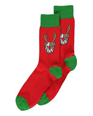 Novelty Christmas Socks Men George at ASDA