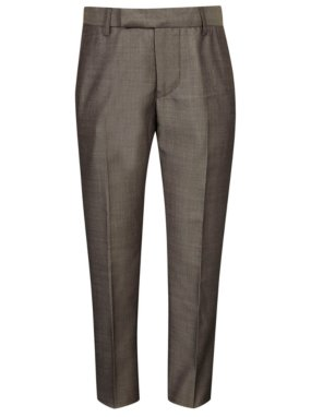 Woven Suit Trousers