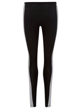 Jersey Panel Leggings