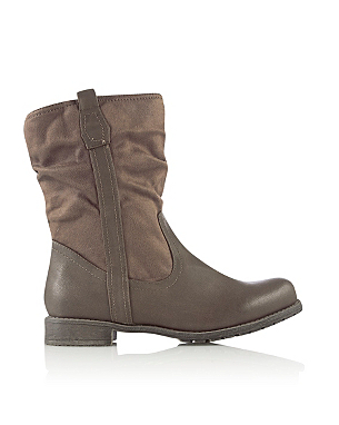 Slouch Calf Boots