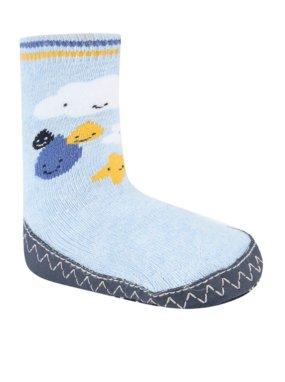 Cloud Print Slipper Socks
