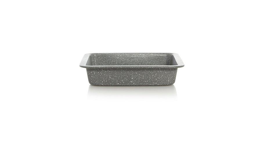salter marble stone cake tin grey square baking george. Black Bedroom Furniture Sets. Home Design Ideas