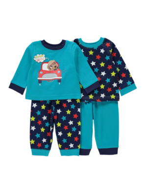 2-Pack Bright Pyjamas