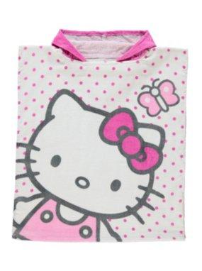 Hello Kitty Hooded Poncho Towel