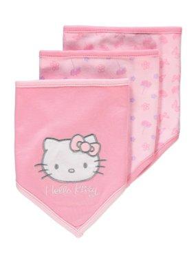 3 Pack Hello Kitty Bibs