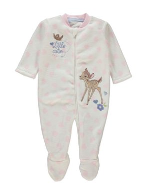 Bambi Fleece Sleepsuit