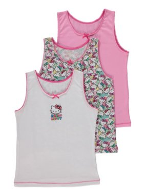 3 Pack Hello Kitty Vests