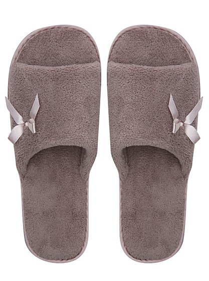 open toe slippers women george at asda. Black Bedroom Furniture Sets. Home Design Ideas