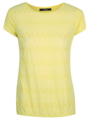 Broderie Anglaise Front T-shirt