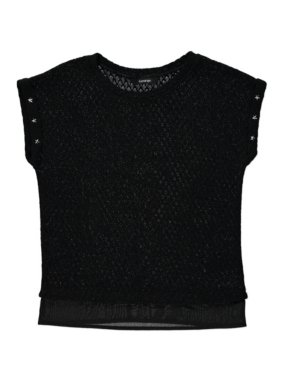 Knitted Star Studded Top