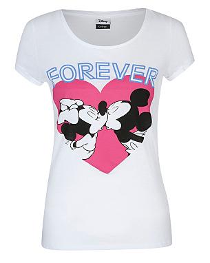 Minnie and Mickey T-shirt | Women | George at ASDA