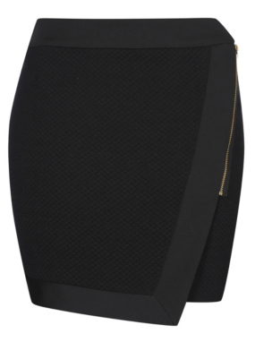 G21 Textured Side-zip Skirt