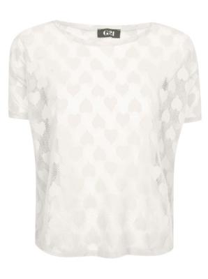 G21 Heart Mesh T-shirt