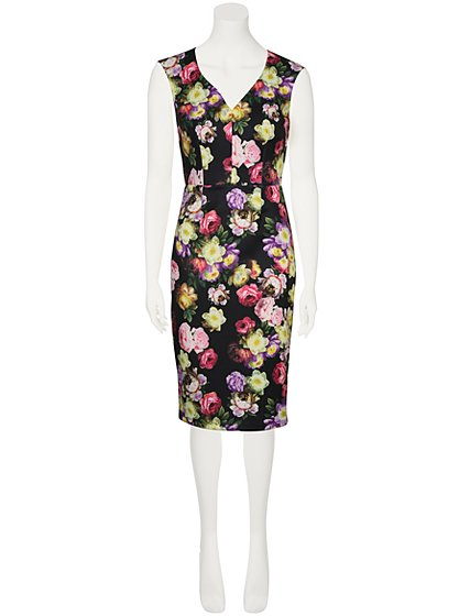Floral print dress women george at asda for George at asda wedding dresses