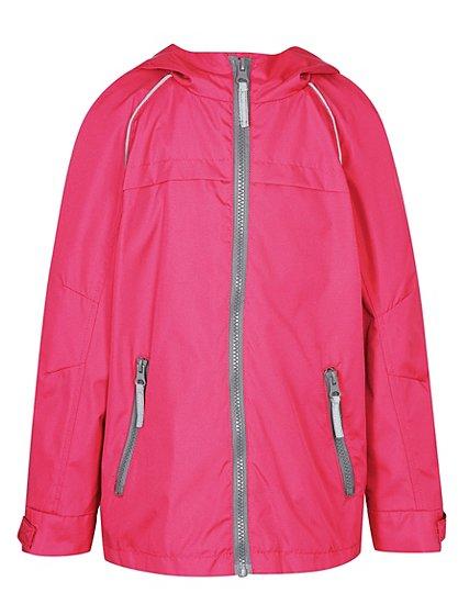girls school mesh lined jacket pink school george at. Black Bedroom Furniture Sets. Home Design Ideas