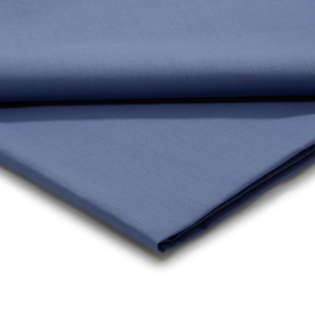 George Home Colony Blue Flat Sheet - Various Sizes