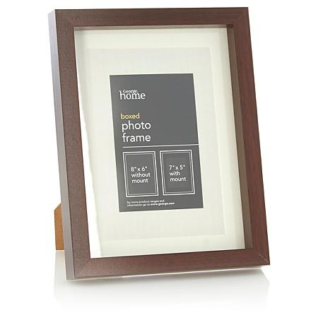 george home boxed frame 7 x 5 inch. Black Bedroom Furniture Sets. Home Design Ideas