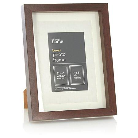 george home boxed frame 7 x 5 inch frames albums. Black Bedroom Furniture Sets. Home Design Ideas