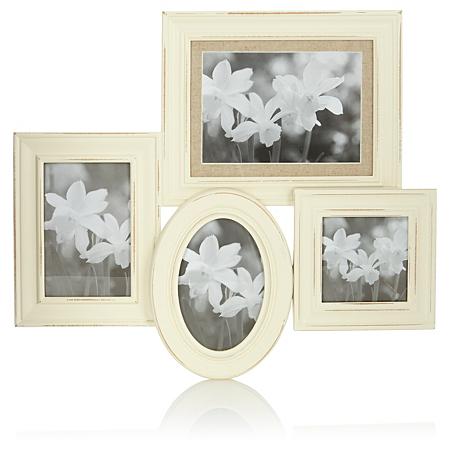 george home vintage 4 aperture photo frame frames. Black Bedroom Furniture Sets. Home Design Ideas