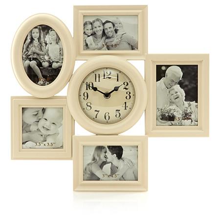 george home vintage photo frame clock home accessories. Black Bedroom Furniture Sets. Home Design Ideas
