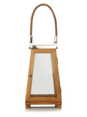 George Home Wooden Lantern