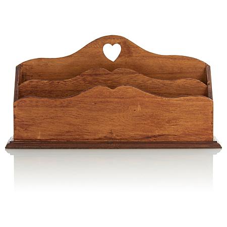 george home wooden letter rack home accessories asda. Black Bedroom Furniture Sets. Home Design Ideas