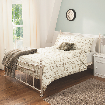 george home horse print duvet set bedding asda direct. Black Bedroom Furniture Sets. Home Design Ideas