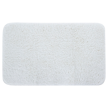 george home white microfibre rubber backed bath mat. Black Bedroom Furniture Sets. Home Design Ideas