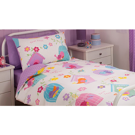 George Home Birds Duvet Set Single Bedroom Asda Direct