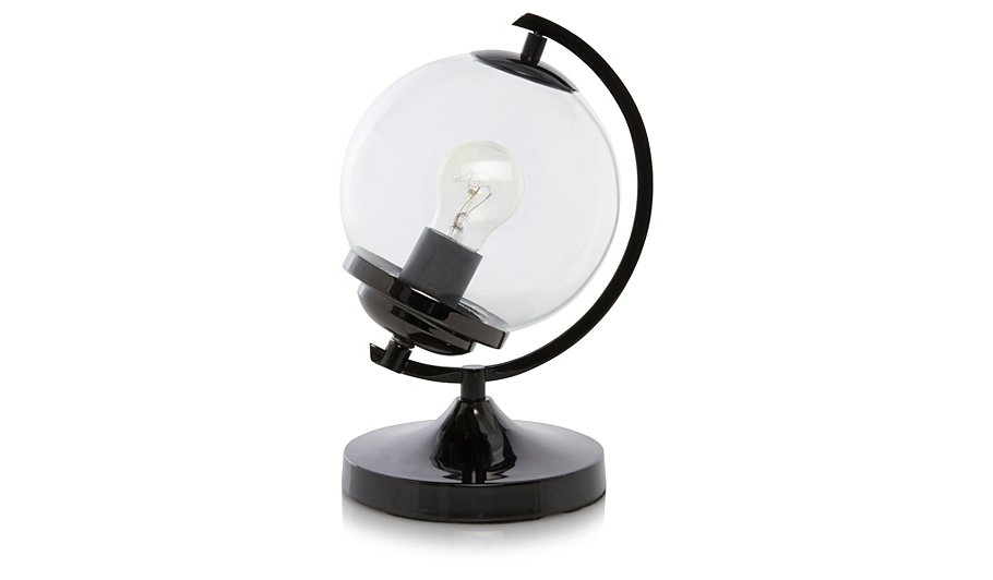 George Home Glass Globe Lamp | Lighting | George at ASDA