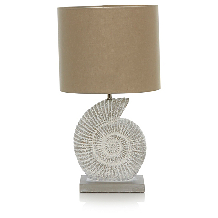 george home fossil table lamp lighting asda direct. Black Bedroom Furniture Sets. Home Design Ideas
