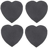 George Home Slate Heart Coaster Set Of 4 Dining