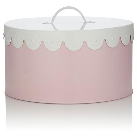 george home pink scalloped cake tin baking asda direct. Black Bedroom Furniture Sets. Home Design Ideas