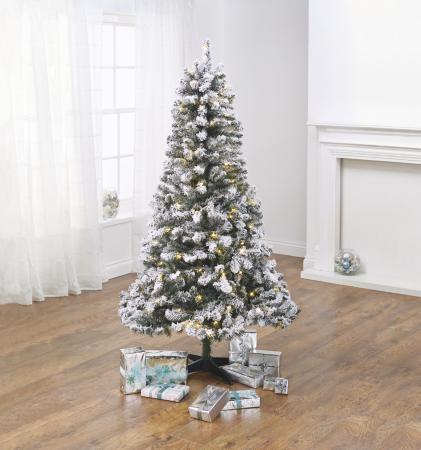 7 Ft Flocked Christmas Tree