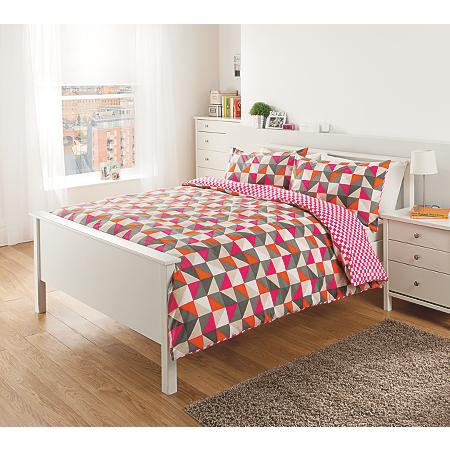 George Home Triangles Duvet Set | Bedding | ASDA direct
