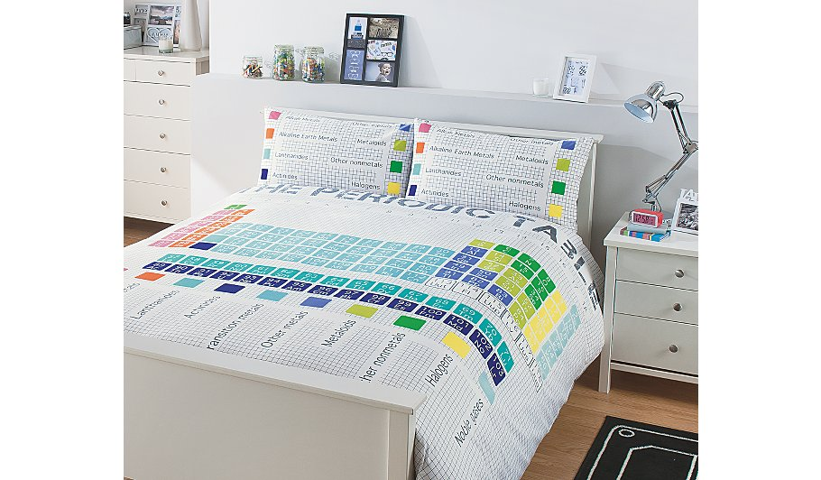Periodic table duvet cover sweetgalas periodic table duvet cover sweetgalas urtaz Gallery