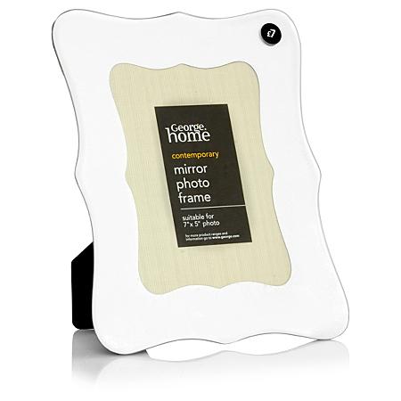 george home mirror photo frame 7 x 5 inch frames. Black Bedroom Furniture Sets. Home Design Ideas