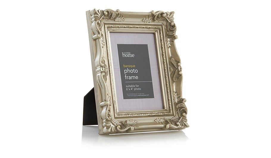 george home baroque photo frame 6 x 4 inch frames. Black Bedroom Furniture Sets. Home Design Ideas