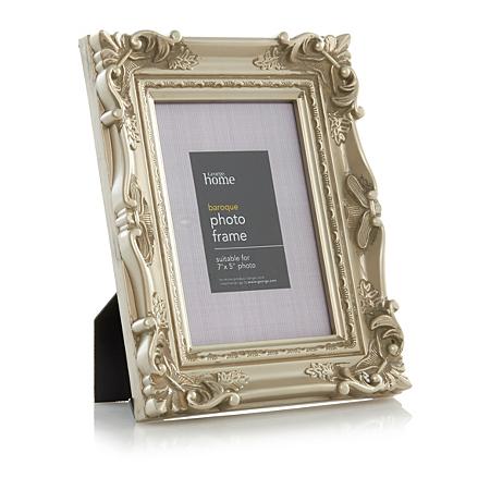 george home baroque photo frame 7 x 5 inch frames. Black Bedroom Furniture Sets. Home Design Ideas
